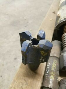 3 1 2 Four Wing Carbide Chevron Drag Bit 2 Api If Pin Water Well Geothermal