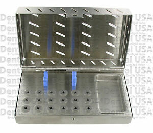 Dental Implant Sterilization Cassette Box Tray Case By Dental Usa 7506
