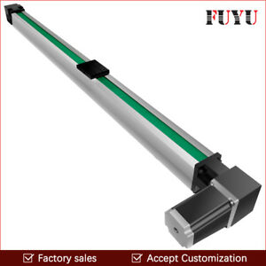 Fuyu Linear Motion Guide Cnc Belt Drive Rail Slide Stage Actuator Nema 24 Motor