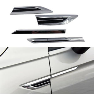 Side Air Vent Hood Intake Fender Cover Trim For Vw Volkswagen Tiguan 2017 2020