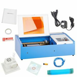 Co2 Laser Engraver Engraving Cutting Machine Cutter Laser Tube 40w