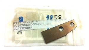 Durkopp 558 Eyelet Buttonhole Sewing Machine Leaf Spring 0558 000310a