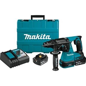 Makita Xrh01t 18v Lxt Lithium ion Brushless Cordless 1 Rotary Hammer Kit 5 0ah