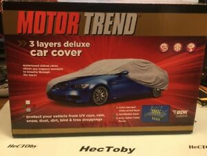 Motor Trend Premium Weatherproof 3 Layer Deluxe Car Cover Small Cadillac