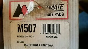 Auto Mate Front Brake Pads M507