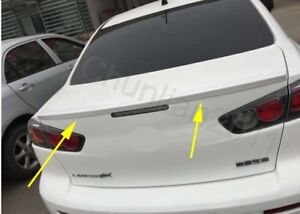Factory Style Spoiler Wing Abs For 2008 2017 Mitsubishi Lancer Spoiler Unpaint B