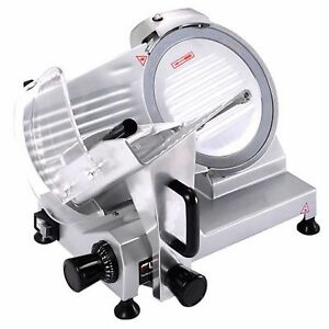 Commercial Meat Slicer Deli Electric Bbq Slicers Machine Lunch Raw Luncheon Best