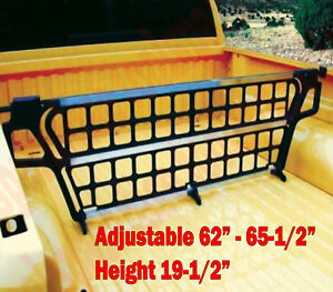 Adjustable Truck Bed Cargo Gate Orginizer Load Divider Barrier