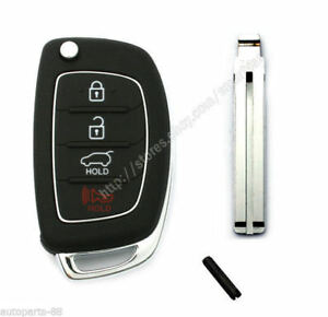Keyless Entry Folding Transmitter Key For 2013 2014 Hyundai Tucson 2s701
