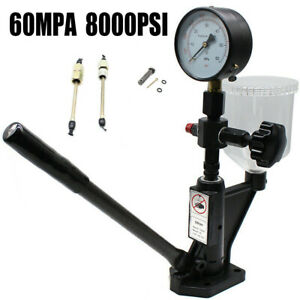 1 X Diesel Injector Nozzle Tester 0 8l Engine Vehical Pump Fuel Tank Valve New