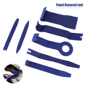 7 Pcs Panel Removal Open Pry Tools Kit Car Auto Stereo Dash Door Radio Trim