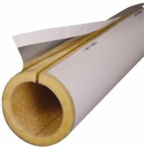 Made In Usa 1 1 2 Inch Thick X 3 Ft Long Fiberglass Rigid Pipe Insulation 8