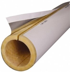 Made In Usa 2 Inch Thick X 3 Ft Long Fiberglass Rigid Pipe Insulation 850 d