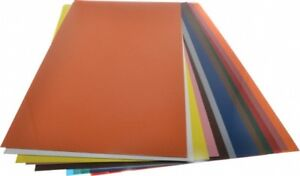 Made In Usa 14 Piece 0 005 To 0 03 Inch Thickness Plastic Shim Stock Sheet