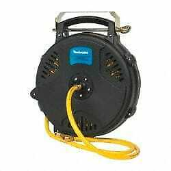 Pro source 50 Spring Retractable Hose Reel 300 Psi Hose Included