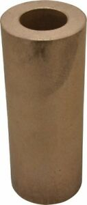 Made In Usa 2 1 2 Inch Outside Diameter X 6 1 2 Inch Long Bronze Round Tube