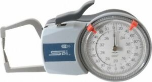 Spi 0 4 Inch Max Measurement 0 0002 Inch Graduation Outside Dial Caliper Ga