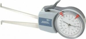 Spi 1 2 To 2 Inch Inside Dial Caliper Gage 0 0005 Inch Graduation 0 0015 In