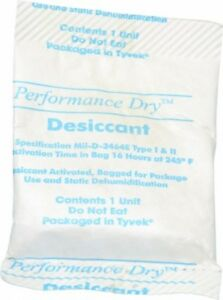 Made In Usa 1 Ounce Desiccant Packet Silica Gel