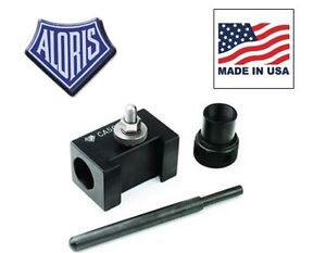Aloris Bxa 5c Quick Change Collet Drilling Holder For Tool Post Made In Usa