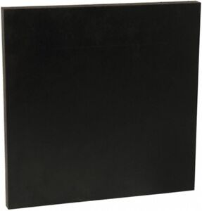 Made In Usa 24 X 12 X 3 4 Inch Abs Plastic Sheet Black Rockwell R 105