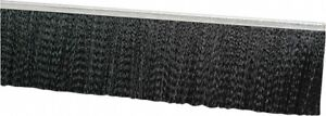 Pro source 1 2 Inch Back Strip Brush Width Metal Black Nylon Strip Brush 2 I