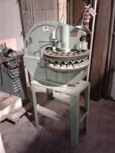 Diacro Manual Turret Punch 18 On Factory Stand