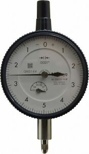 Mitutoyo 0 05 Inch Range 0 5 0 Dial Reading 0 0001 Inch Graduation Dial Dro