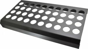 Huot 40 Collet Er32 Steel Collet Rack And Tray 9 1 8 Inch Wide X 2 Inch High
