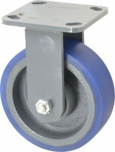 Hamilton 6 Inch Diameter X 2 Inch Wide Rigid Caster With Top Plate Mount 7 1