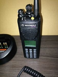 Security Police Gmrs Motorola Xts3000 Uhf P25 Digital Radio W Programming Fire