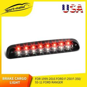 For 2009 18 Dodge Ram 1500 2500 3500 Led Clear 3rd Third Brake Light Cargo Lamp
