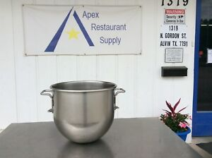 Hobart Vmlh 40 40 Qt Stainless Steel Mixer Bowl Commercial 3029