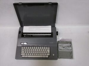 Smith Corona Electronic Electric Typewriter Sl470 Excellent Condition