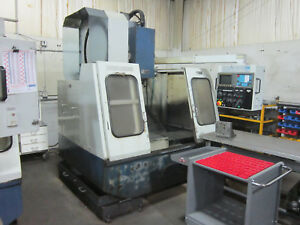 Excel 810 Cnc Vertical Machining Center With Fanuc Series O m Control