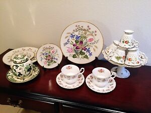 Vintage Antique China Mixed Cup Lots
