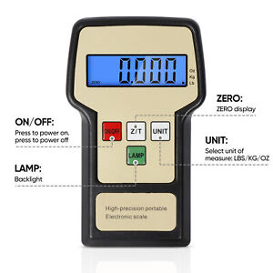 220 Lbs Digital Refrigerant Charging Weight Scale With Case For Hvac Tool Bag