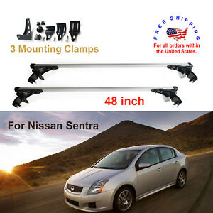 For Nissan Sentra 2006 2017 Aluminum Car Roof Crossbar Bar Rack Luggage Cargo
