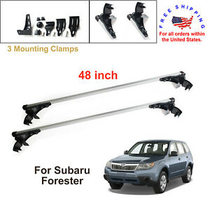For Subaru Forester 2009 2011 Aluminum Car Cross Bar Cargo Luggage Roof Rack