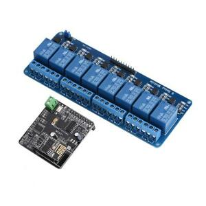 Imatic Wifi Network Io Controller 8 ch Relay Module For Arduino Android Ios