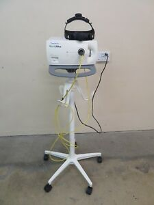 Welch Allyn Cl 100 Surgical Illuminator Head Lamp Cart Inv Ab d 2664