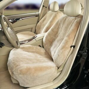 Semi custom Sheepskin Seat Covers Lowback Silver
