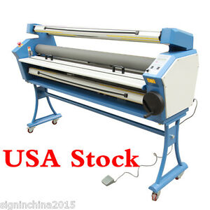 Upgraded 55 Full auto Low Temp Wide Format Cold Laminator with Heat Assisted