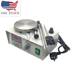 Laboratory Magnetic Stirrer With Heating Plate 110v Hotplate Mixer 0 2400rpm Us