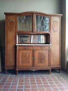 Gorgeous Antique French Side By Side Buffet