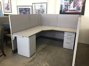 6ft X 6ft X 52 h Cubicle partition System By Herman Miller Ao2 Local Only