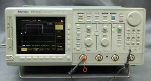Tektronix Tds724a 500mhz 2 Channel Color Digital Scope Options Tested Good