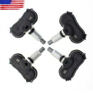 4pc Oem Tire Pressure Monitor Sensor Tmps Set For Honda Fit Civic