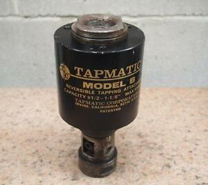 Tapmatic Model B Reversible Tapping Head Attachment