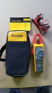 Fluke 375 True Rms Clamp Meter With Frequency Measurement 600a
